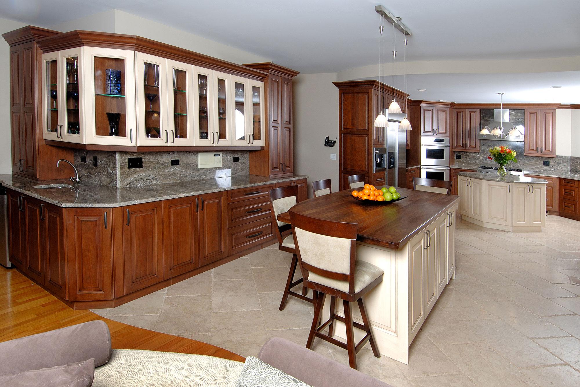 Cherry Custom Kitchen Cabinets Cherry Custom Kitchen Cabinets