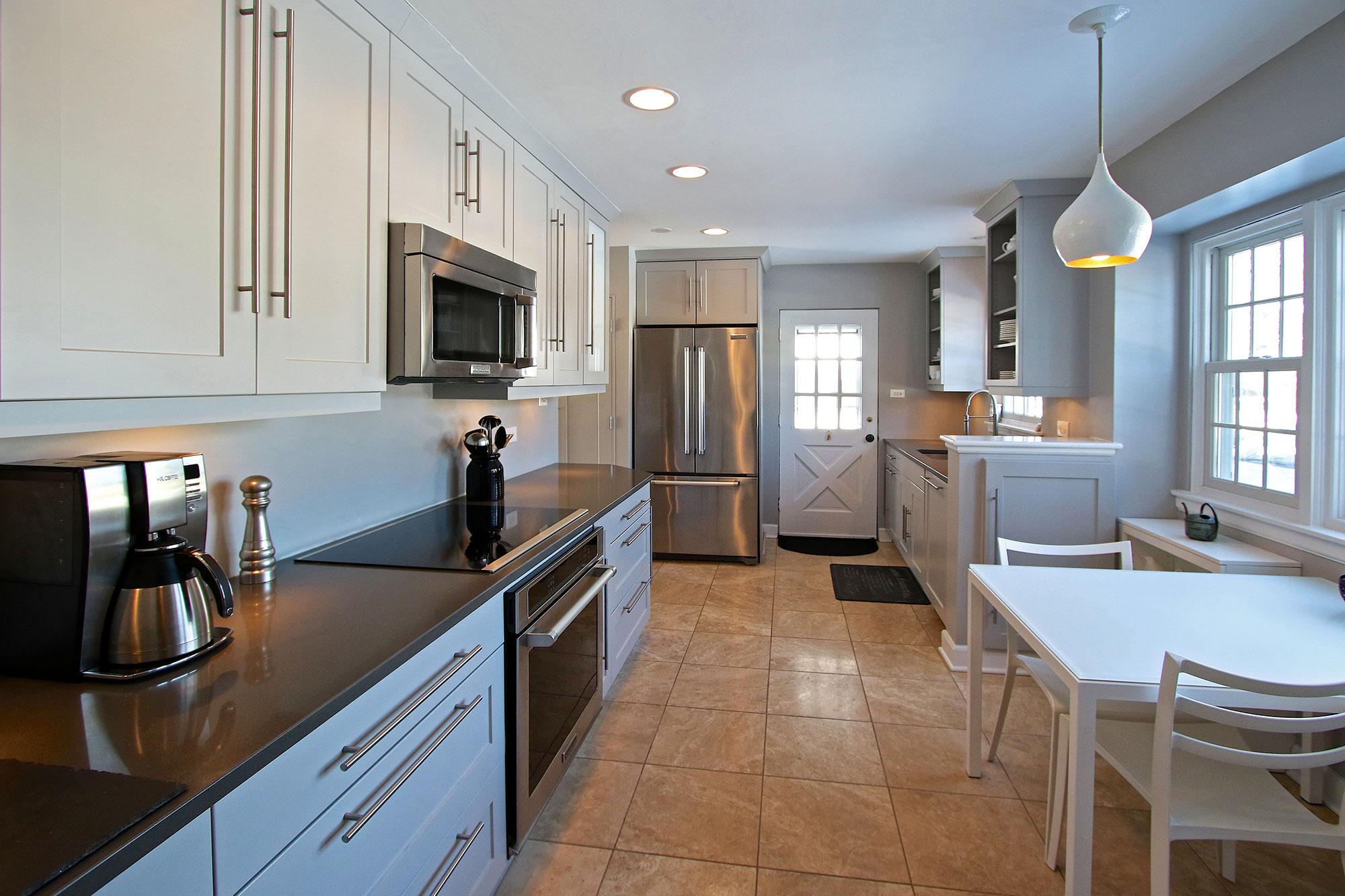 Kitchen Side View : Cabinets kitchen bath bathroom