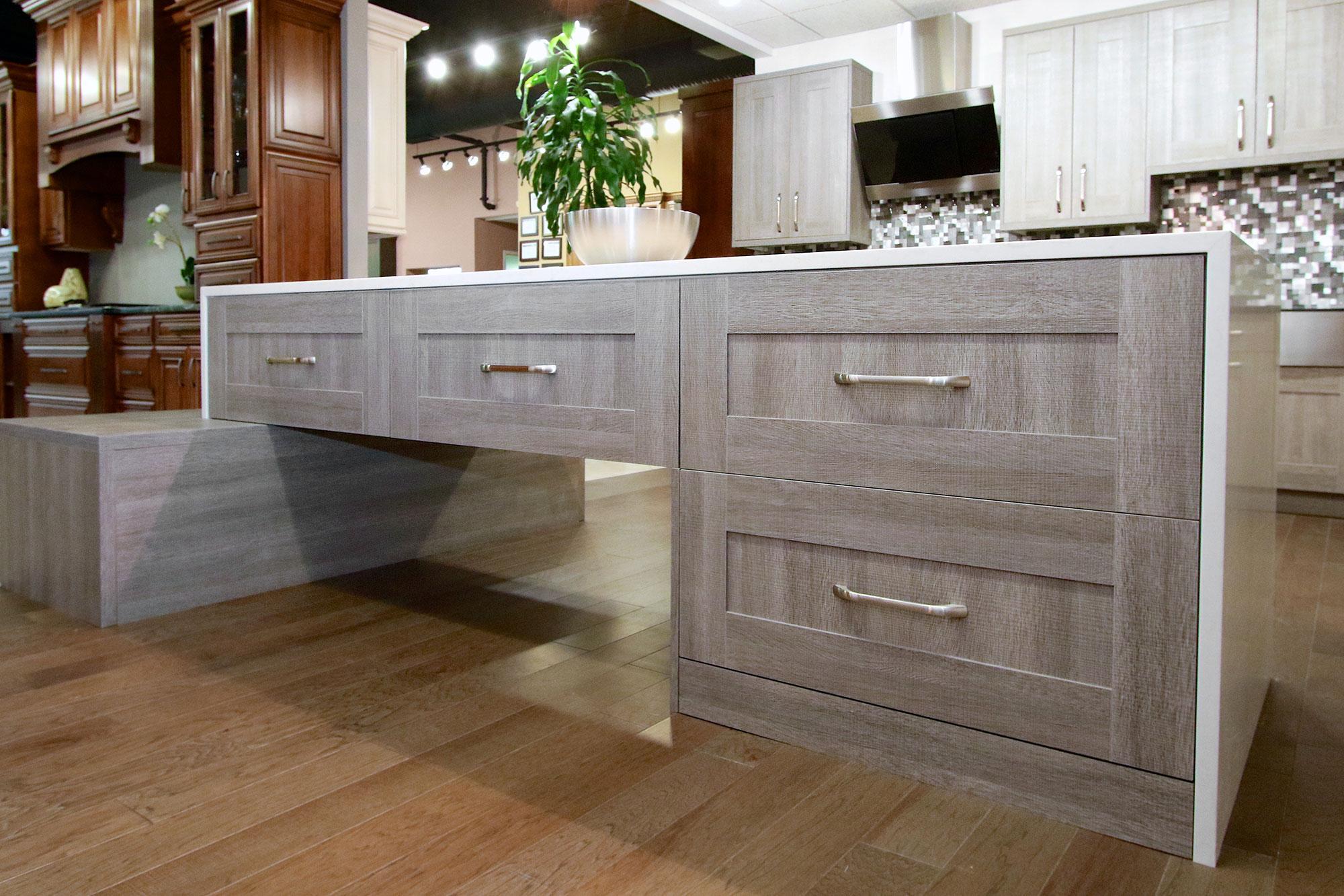Melamine cabinets kitchen bath kitchen cabinets for Kitchen cabinets victoria