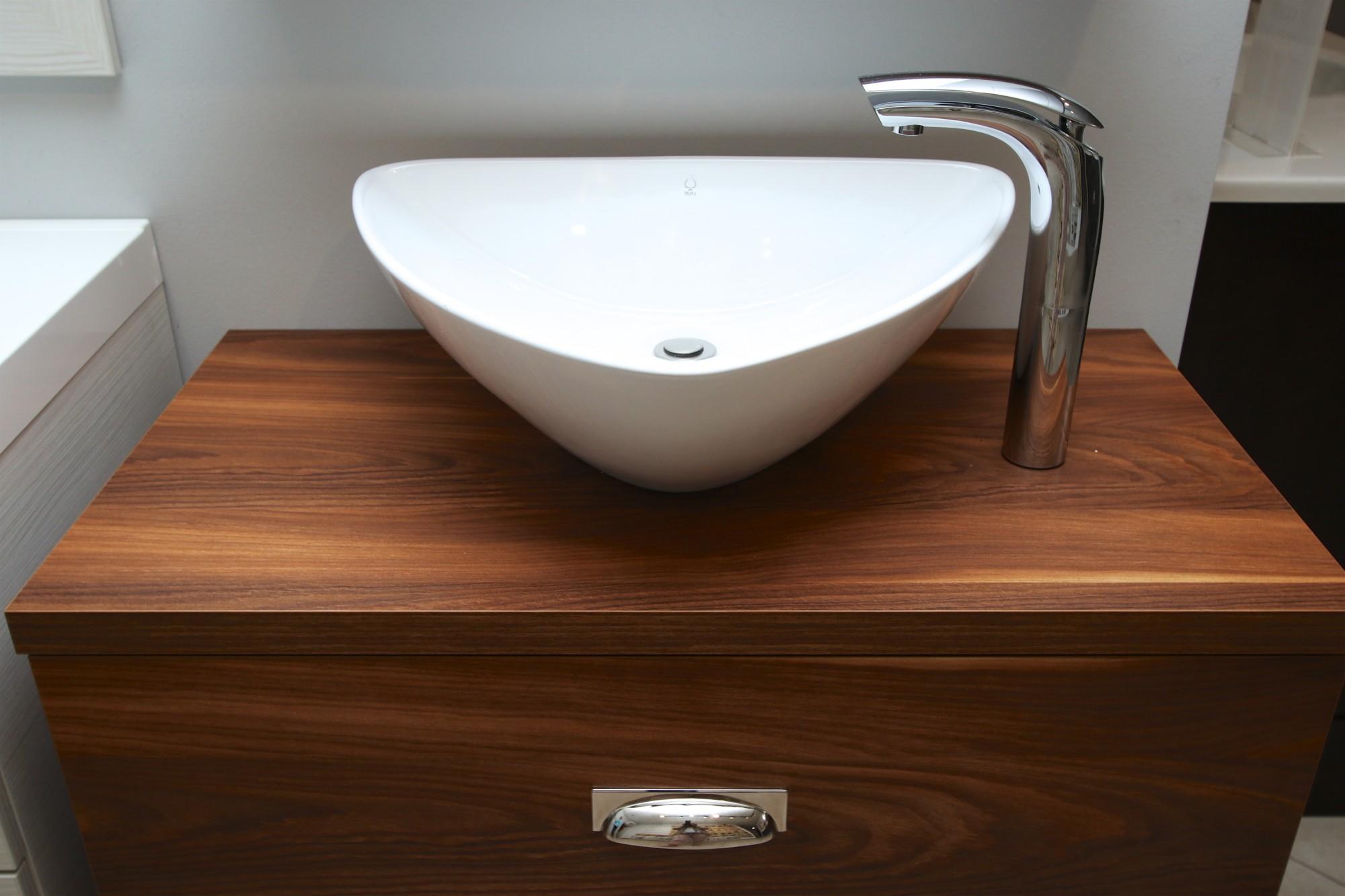 Malta Bathroom Vanity Stock Melamine Sink